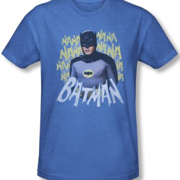 Vintage Batman Classic TV Theme Song Mens Tee Shirt
