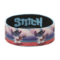 Disney Lilo & Stitch Elvis Rubber Bracelet