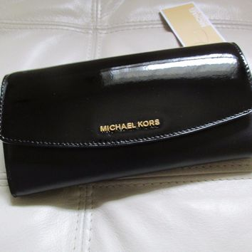 MICHAEL Michael Kors Ava Patent Trifold Wallet