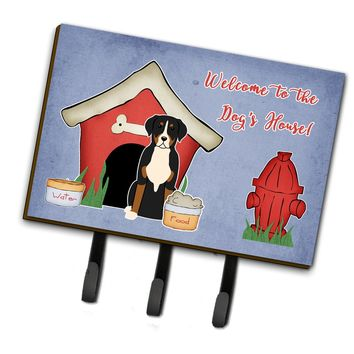 Dog House Collection Greater Swiss Mountain Dog Leash or Key Holder BB2791TH68