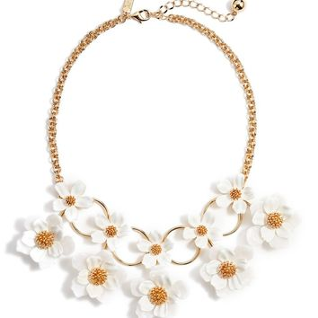 kate spade new york floral mosaic statement necklace | Nordstrom