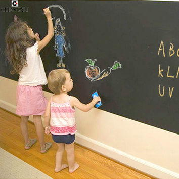 Creative Blackboard Sticker Wallpapers chalk Decor Living Rooms Removable background decoration PVC Draw Decor Vinyl Art