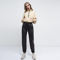 Casual Patchwork High Waist Fashion Pants [1449744334945]