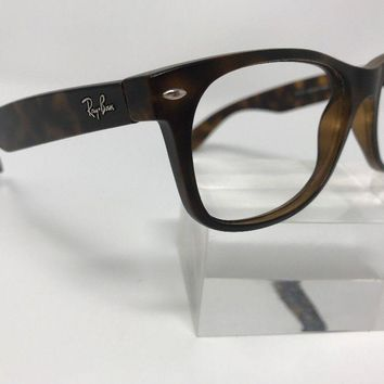 Authentic Ray Ban Sunglasses RB 2132 Italy 55-18-140 Tortoise 1370