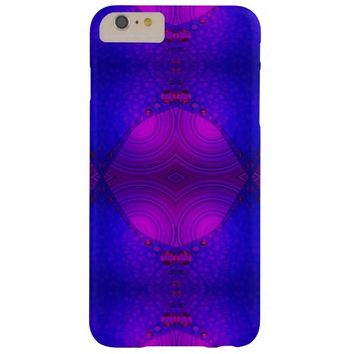 Purple Pink Abstract Artwork Barely There iPhone 6 Plus Case