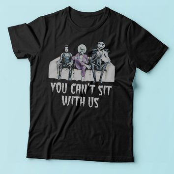 Tim Burton You Cant Sit With Us Men'S T Shirt