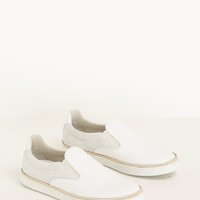Totokaelo - Maison Martin Margiela Off White Slip On Sneaker - $570.00