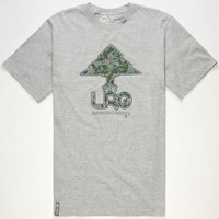 Lrg Neon Tree Mens T-Shirt Heather Grey  In Sizes