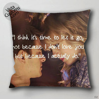 Gwen Stacy Amazing Spiderman quotes Pillow Case, Chusion Cover ( 1 or 2 Side Print With Size 16, 18, 20, 26, 30, 36 inch )