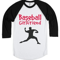 Baseball-Unisex White/Black T-Shirt
