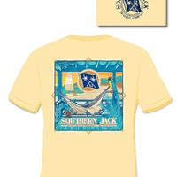 Southern Jack Apparel Porch Hammock Comfort Colors Unisex Frass Bright T Shirt