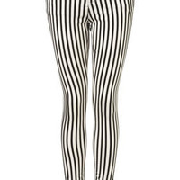 MOTO Stripe Leigh Jeans - Jeans  - Apparel