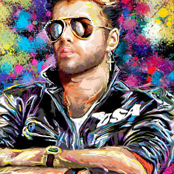 George Michael Art