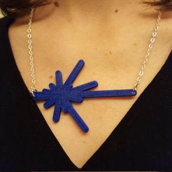 3D Printed Voyage Beyond Necklace