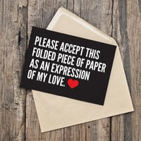 Printable Valentine's Day Card / Funny Valentine / Romance / Love
