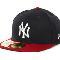 New York Yankees MLB Cooperstown Patch 59FIFTY Cap