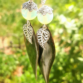 Sparkling Leaves Dangles
