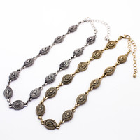 Vintage chain choker necklace