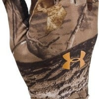 Under Armour Men's UA Camo ColdGear® Liner Gloves Medium Realtree AP