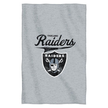 Oakland Raiders NFL Sweatshirt Throw