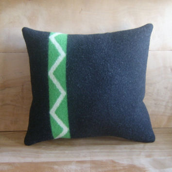 Pendleton Wool Pillow 14x15 by RobinCottage on Etsy