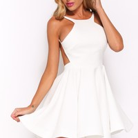 Writing On The Wall Dress White