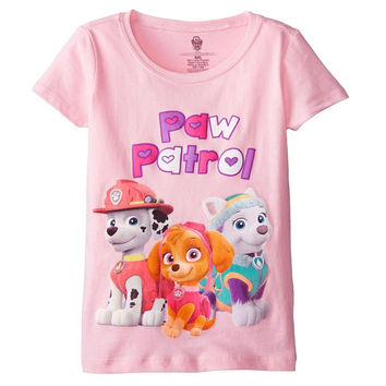 Paw Patrol - Heart Logo Girls Juvy T-Shirt