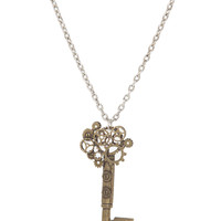 Steampunk Key Necklace | Hot Topic