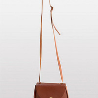 American Apparel - Leather Cross Body Satchel