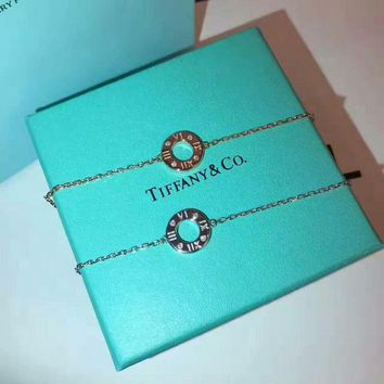 Tiffany & Co. New Roman numerals bracelet