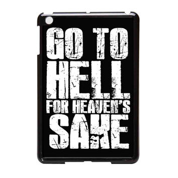 Bring Me The Horizon Go To Hell For Heaven Sake  Bmth iPad Mini Case
