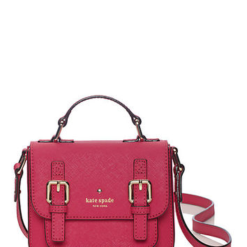 Kate Spade Kids' Saffiano Leather Scout Cross Body Sweetheart Pink ONE