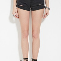 Distressed Denim Shorts | Forever 21 - 2000171456
