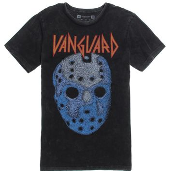 Vanguard Metal Mask T-Shirt - Mens Tee - Black