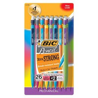 BIC® #2 Xtra Strong Mechanical Pencils, 0.9mm, 26ct - Multicolor