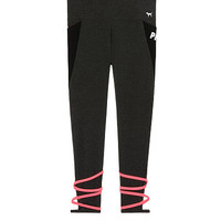 Cotton Strappy Pocket Legging - PINK - Victoria's Secret
