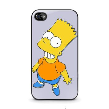 bart simpsons iphone 4 4s case cover  number 1