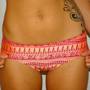 The Madison REVERSIBLE BIKINI Boyshort Bottom by IMSYSwimwear