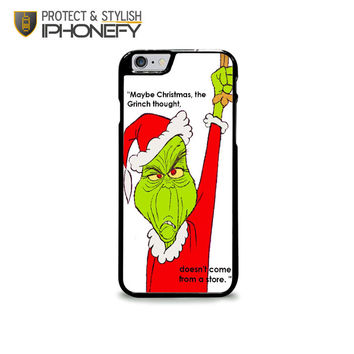 The Grinch Christmas iPhone 6 Plus Case|iPhonefy
