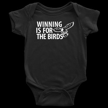 Winning is For The Birds Infant Onesuit