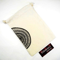 Mandala, Drawstring bag, Muslin bags, Mandala canvas tote, Drawstring bags, Canvas tote, Henna tote bag, Yoga lover, Organic, Bohemian bag