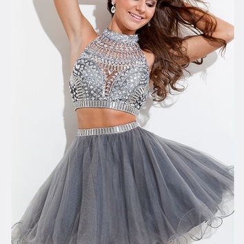 f8ec5ae5cba Beaded Embellished Crop Top Tulle Skirt from Dress Prom