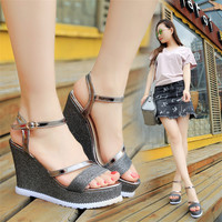 Fashion Platform Sandals Summer Wedges Sandals Women
