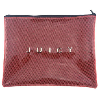 JUICY - PVC / Mesh Clutch Bag