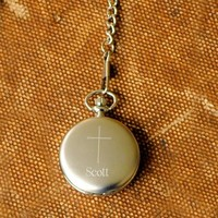 Inspirational Pocket Watch - Brushed