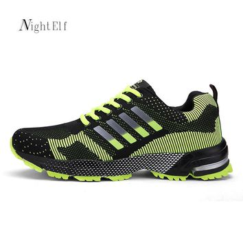 Night Elf sneakers men running shoes men woman high quality sport shoes breathable red bottom summer sneakers women air 2017