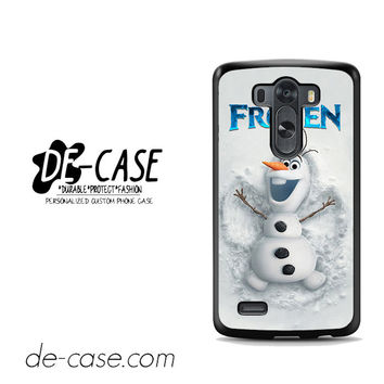 Disney Frozen Olaf Poster For LG G3 Case Phone Case Gift Present
