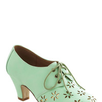 Solar Powerful Heel in Mint