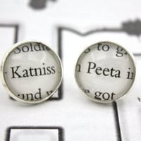Hunger Games 'Katniss' & 'Peeta' Post / Stud Earrings