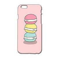 Cute Macarons Plastic Phone Case for Iphone 6